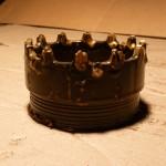 Буровая коронка СА-4 вид с боку