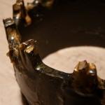 Вид зуба буровой твердосплавной коронки СА-4