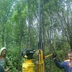 Выбор места для скважины на воду в Гатчине (начало)