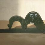 Ключ шарнирный КШС 63,5 для бурильных труб