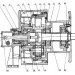 Лебедка бурового станка СКБ 41