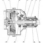 Сцепление дизеля бурового станка СКБ 41
