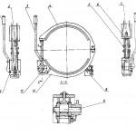 Тормоз спуска бурового станка СКБ-41