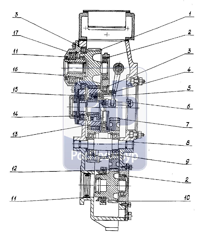 Запасные части к буровому станку СКБ-41