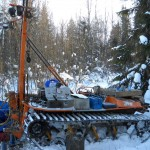 Бурение скважин на воду зимой (ч.2)