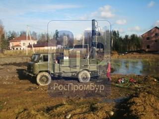 Бурильная установка Вектор на базе шасси ГАЗ-66