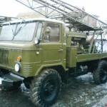 Буровые агрегаты для бурения скважин на воду в СПб и области из Китая. Ремонтная установка РА15.
