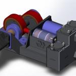 Буровой насос Вектор НП 30-180 3д модель