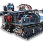Буровая установка «Вектор ТВР-3.200» на вездеходном гусеничном шасси