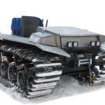 Буровая установка «Вектор ТВР-2.200» на вездеходном гусеничном шасси