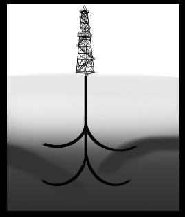 Многозабойное бурение скважин