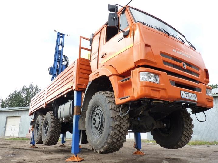 Вектор ВР-4.520 на шасси КАМАЗ 43118