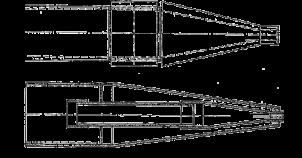 Насадки на турбы для гидромеханического горизонтального бурения