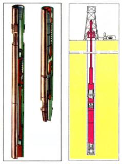 Гидроударное бурение с применением гидроударника