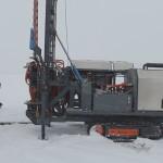 Полевые испытания буровой установки Вектор СВР- 4.354