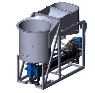 Насос для гидроизоляционных работ