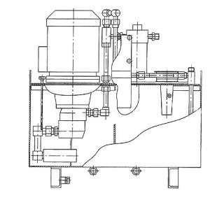 Пример схемы маслостанции