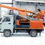 Среднегабаритная буровая установка Вектор ВР-3.200