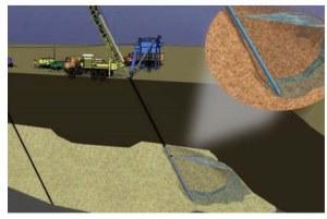 Метод скважинной гидродобычи