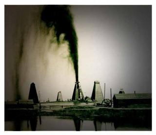 Метод фонтанной добычи нефти
