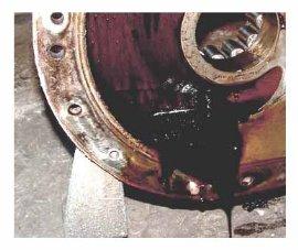 Вынос масла с компрессора