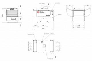 Дизельный компрессор чертеж