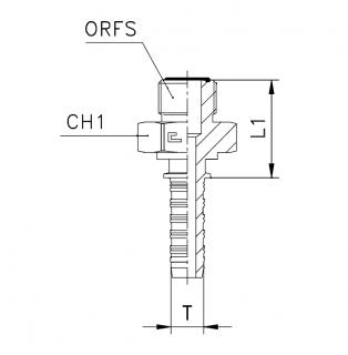 ORFS-штуцер