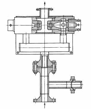 Пример схемы гидравлического диспергатора бурового