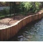 Укрепление берегов водоемов с применением шпунтов