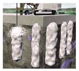 Струйная цементация грунта