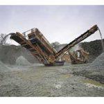 Сортировка горной массы карбонатного сырья