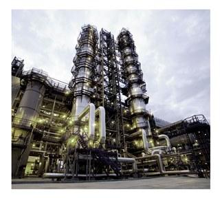 Работа нефтеперерабатывающего завода